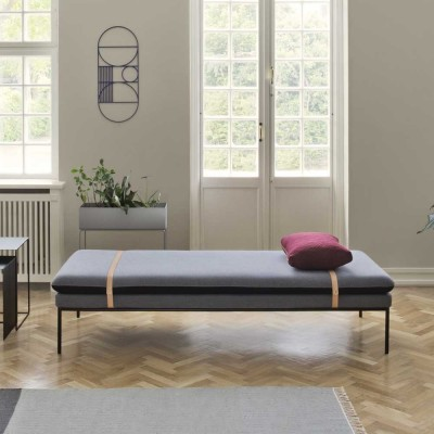 Daybed Turn laine gris Ferm Living
