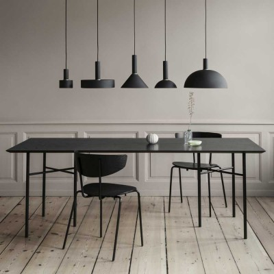 Table Mingle placage noir Ferm Living