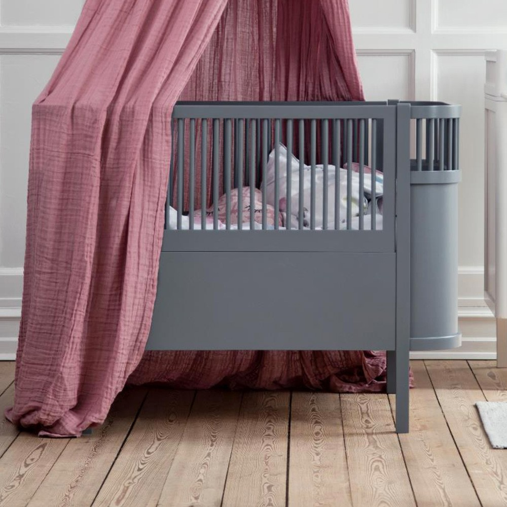 Sebra Cloud bed black