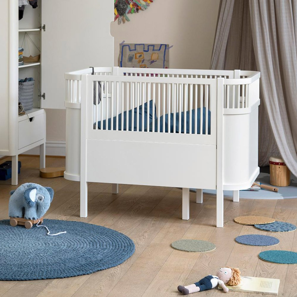 Sebra Cloud bed white