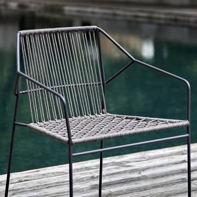 Chaise Sandur back woven