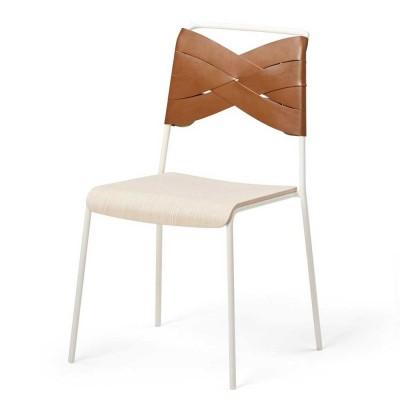 Torso chair ash & cognac Design House Stockholm