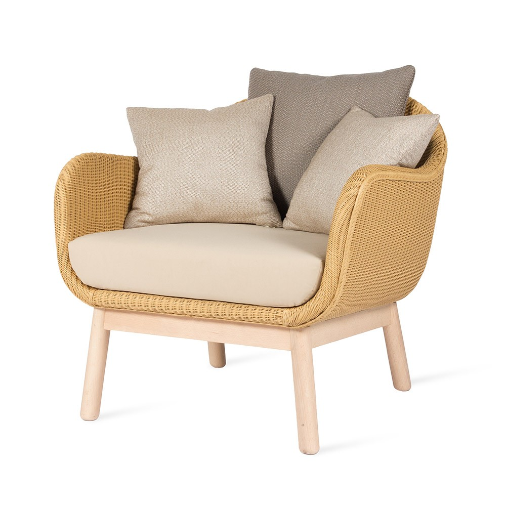 Alex Lounge chair oak