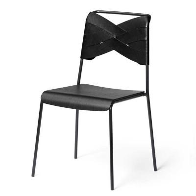 Torso chair black ash & black