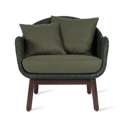 Fauteuil lounge Alex oak
