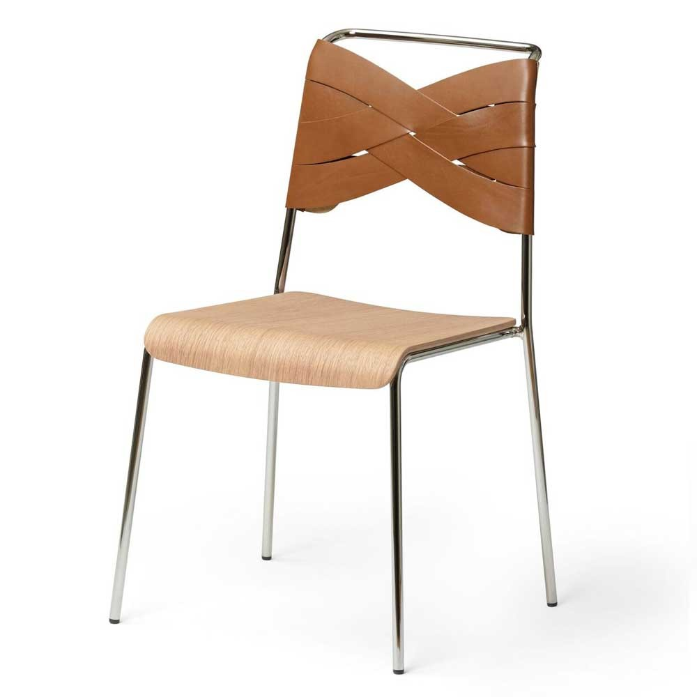 Torso chair oak & cognac