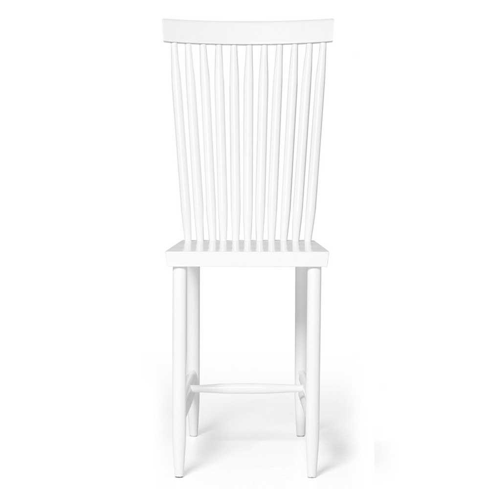 Family chair n°2 white