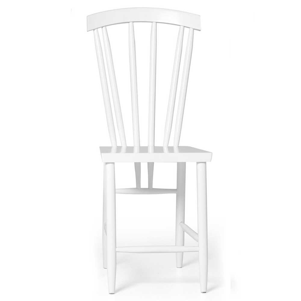 Family chair n°3 white