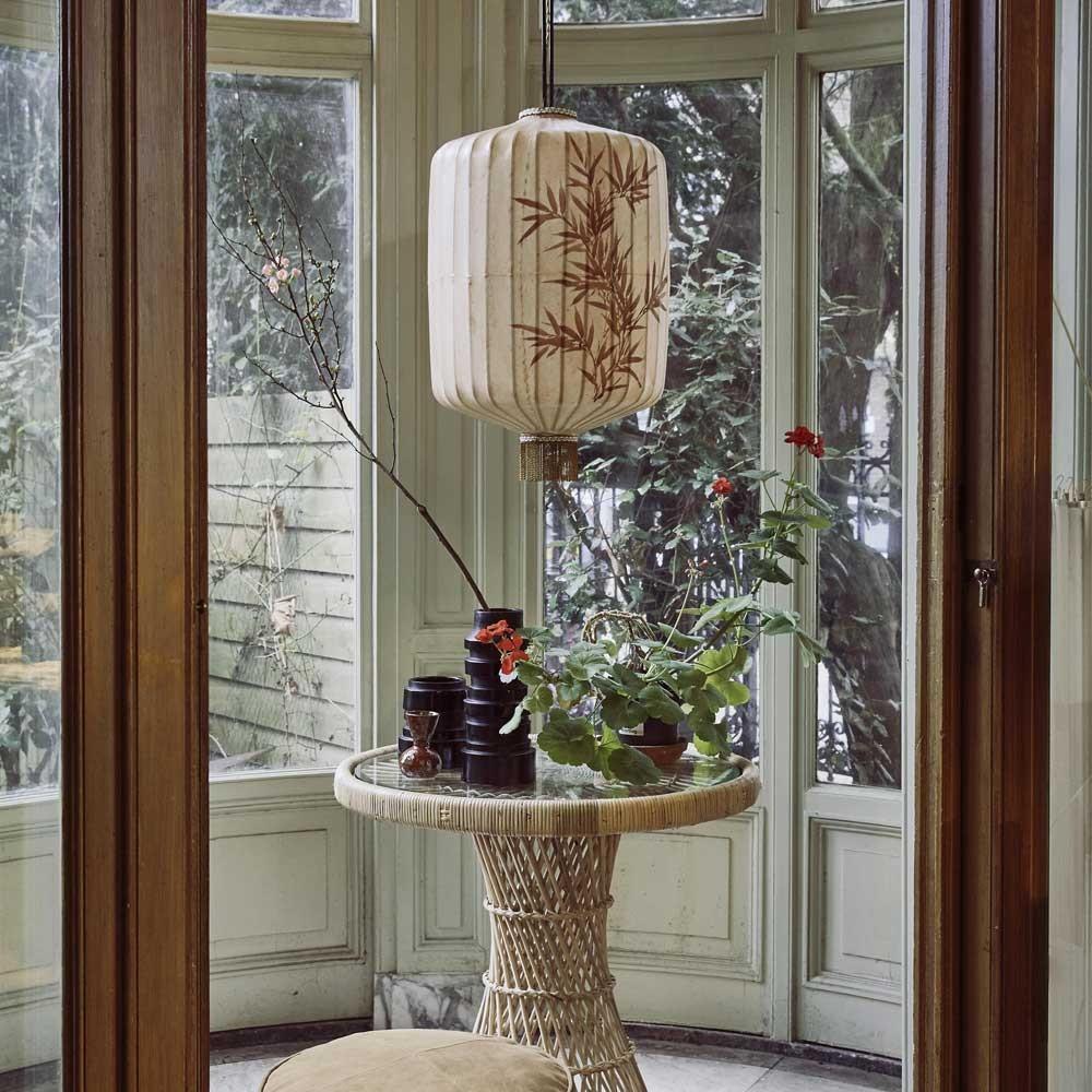 Traditional lantern XL cream