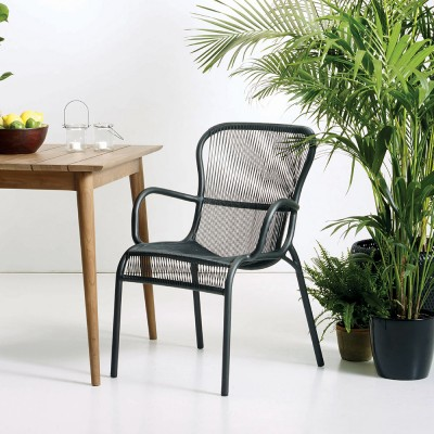 Loop dining chair black Vincent Sheppard