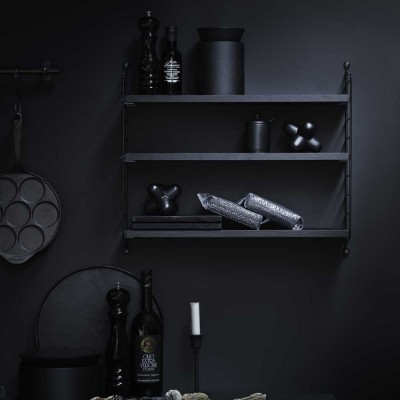 Etagère String pocket noir String