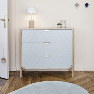 Marius wardrobe light grey Hartô