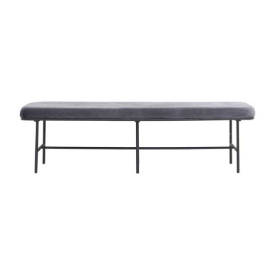 Comma bench grey