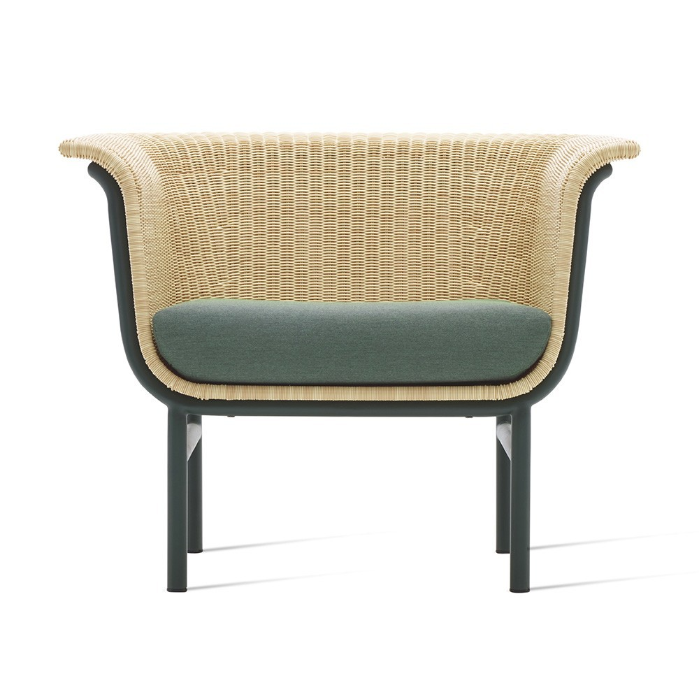 Superieur Wicked Lounge Armchair Natural/green ...