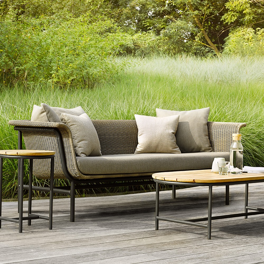 Wicked sofa taupe/charcoal
