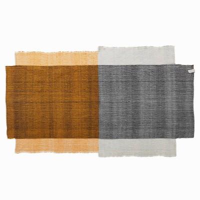 Nobsa rug S grey/ochre/cream