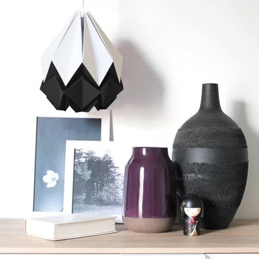 Hanahi white with color pendant lamp