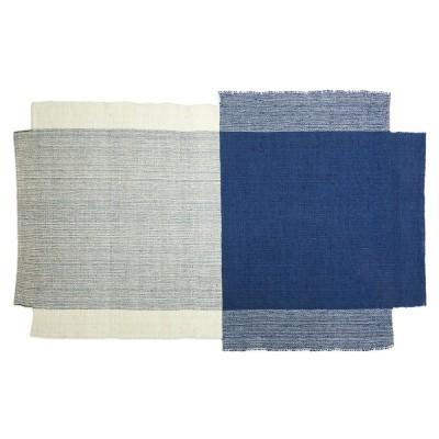 Nobsa rug S blue/mint/cream