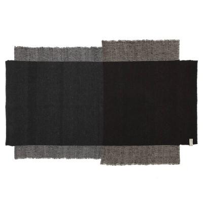 Nobsa rug S grey/brown