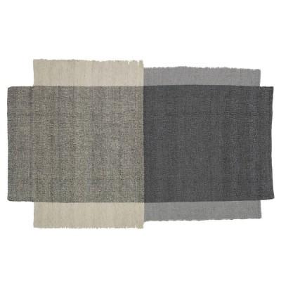 Nobsa rug S grey/cream
