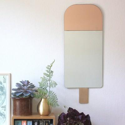 Miroir Ice cream rose Elements optimal