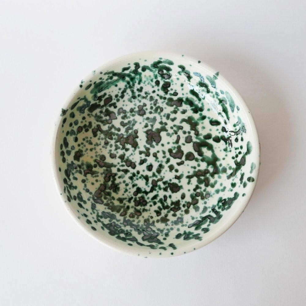 Small plate Green