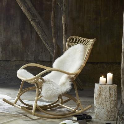 Rocking chair Monet naturel