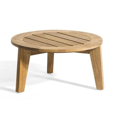 Attol side table teak 50 cm Oasiq