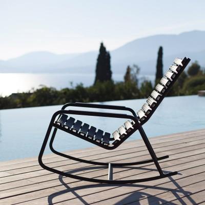Rocking chair Clips monochrome Noir