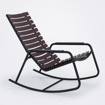 Rocking chair Clips monochrome prune