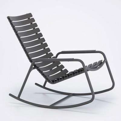 Rocking chair Clips monochrome argile