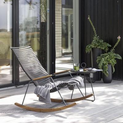 Rocking chair Click noir