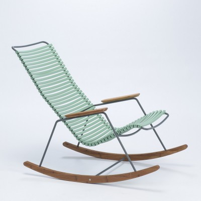 Rocking chair Click dusty green