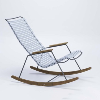 Rocking chair Click bleu clair