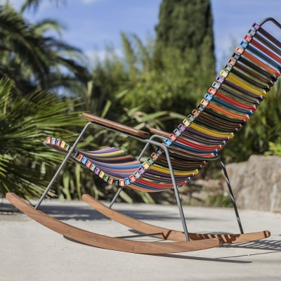 Rocking chair Click multicolore