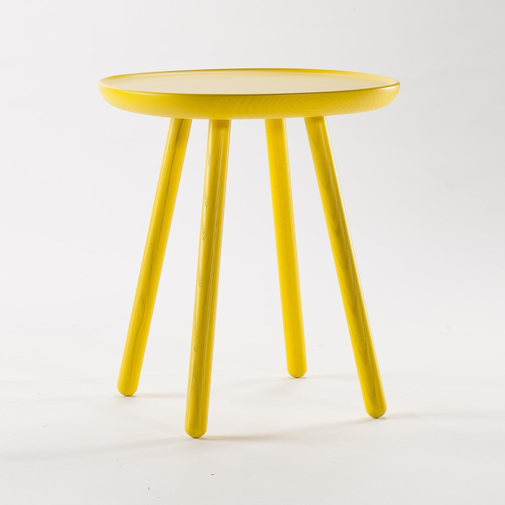 Table d'appoint Naive S jaune