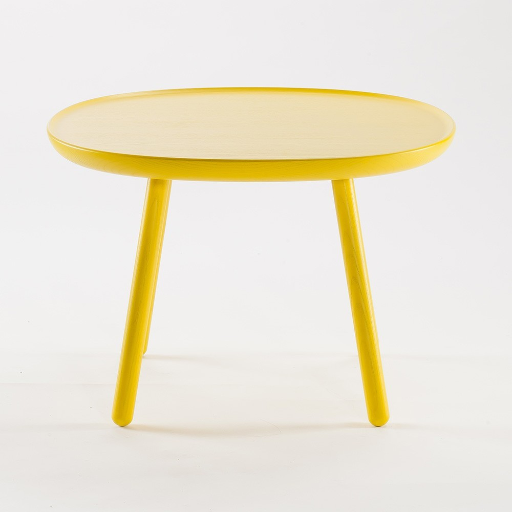Naive side table m yellow