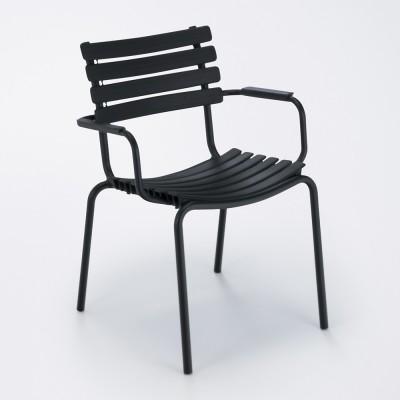 Chaise Clips noir Houe