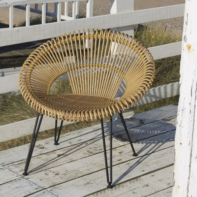 Roy lazy chair natural