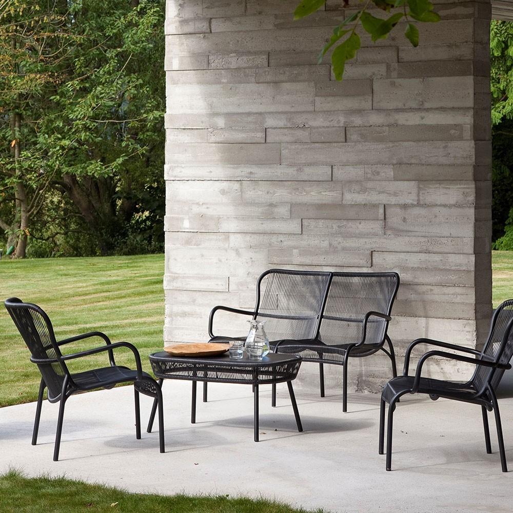 Astonishing Loop Lounge Chair Taupe Set Of 2 Vincent Sheppard Customarchery Wood Chair Design Ideas Customarcherynet