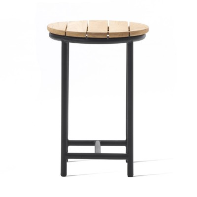 Wicked side table charcoal