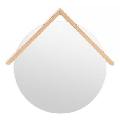 Grand miroir Lubin chêne Hartô