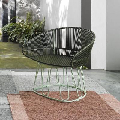 Circo Lounge chair oliv/menta