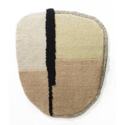 Nudo rug L white/beige/rose