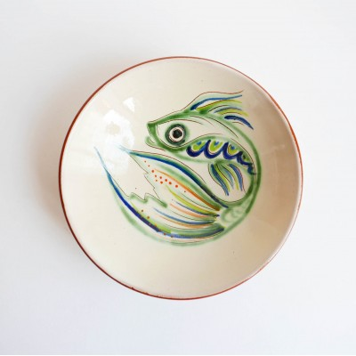 Small dish green fish Datcha
