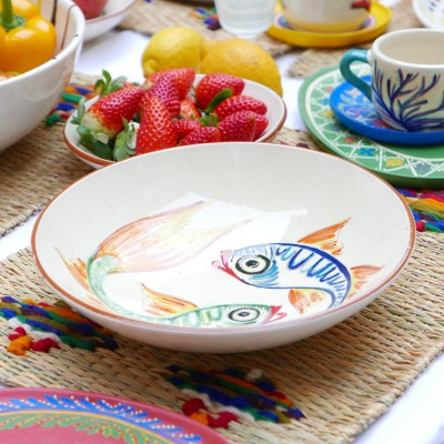 Serving dish fishes