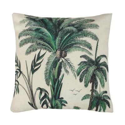 Coussin imprimé palmiers HK Living