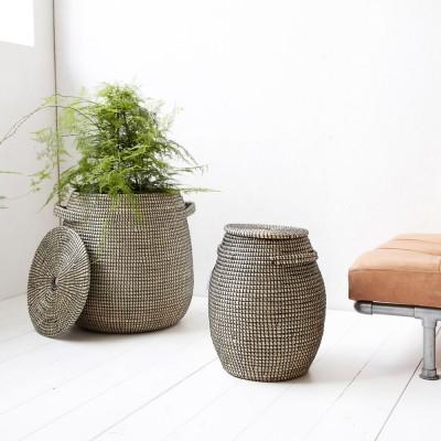 Baskets Effect black/natural (pack of 2)