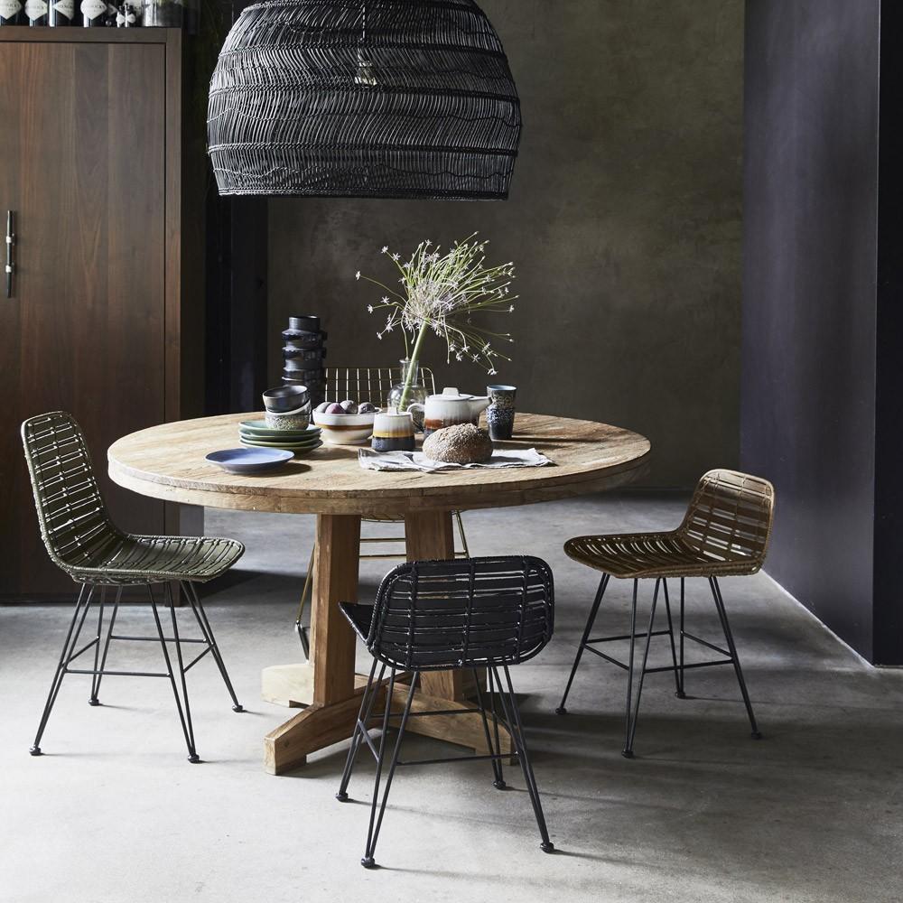 table ronde teak - hk living