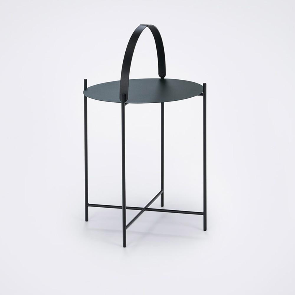 Table Edge Ø46cm vert foncé - Houe